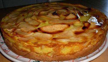 Tarte-flan aux pommes traditionnelle