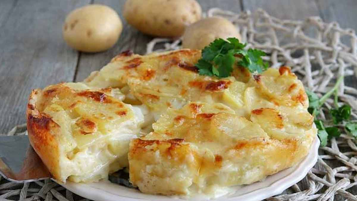 gâteau de pommes de terre au fromage