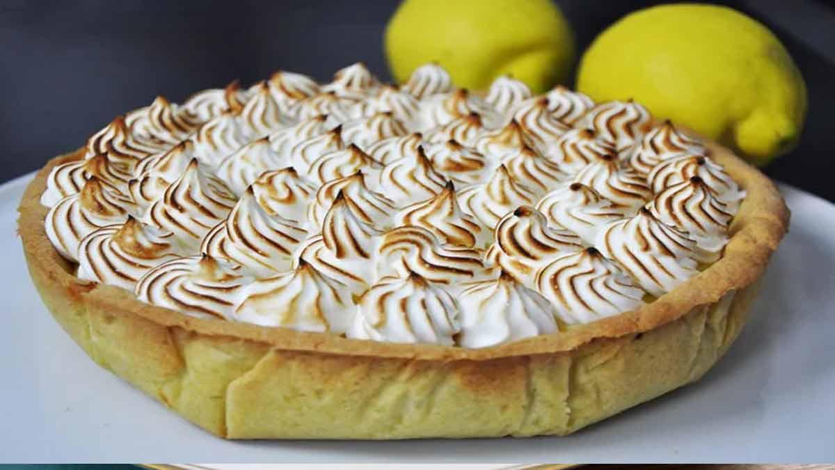 Sublime tarte au citron meringuée
