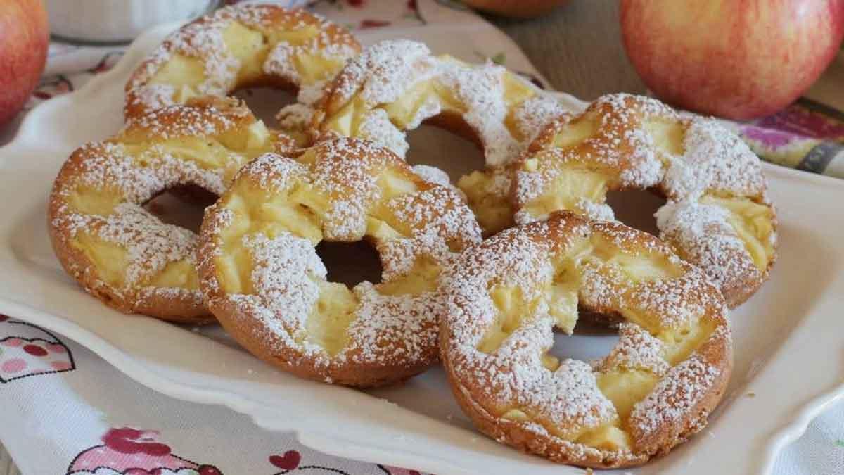 Beignets aux pommes sans beurre