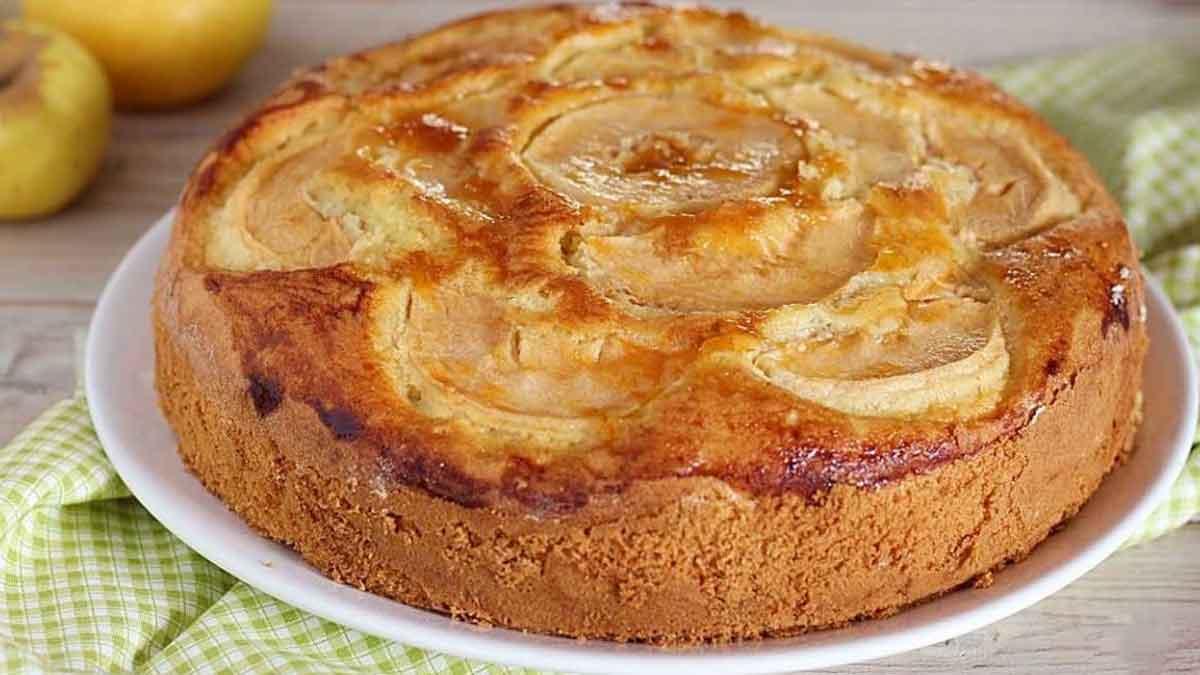 Délicieuse tarte aux pommes très légère et diététique