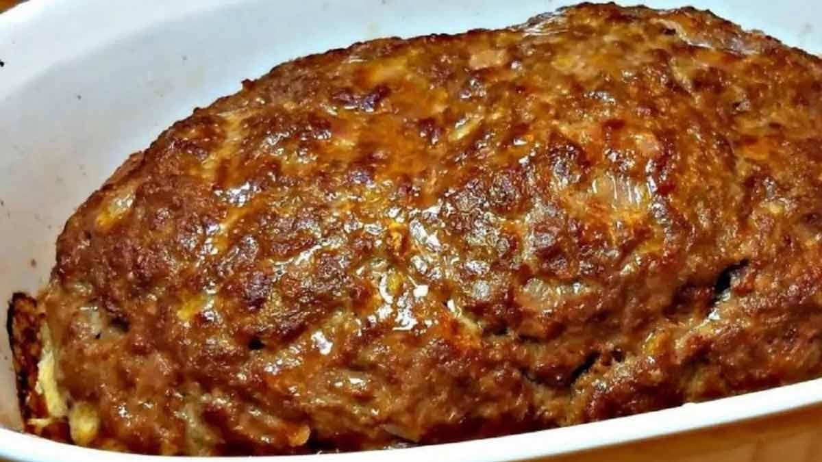 Délicieux pain de viande simplissime