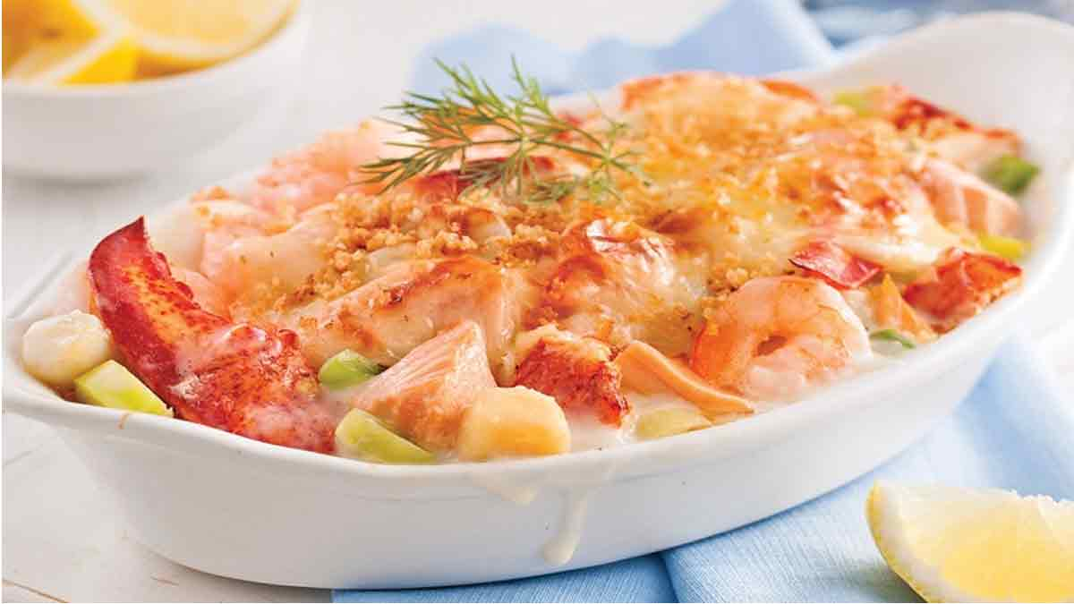 Fabuleuse recette de gratin de fruits de mer
