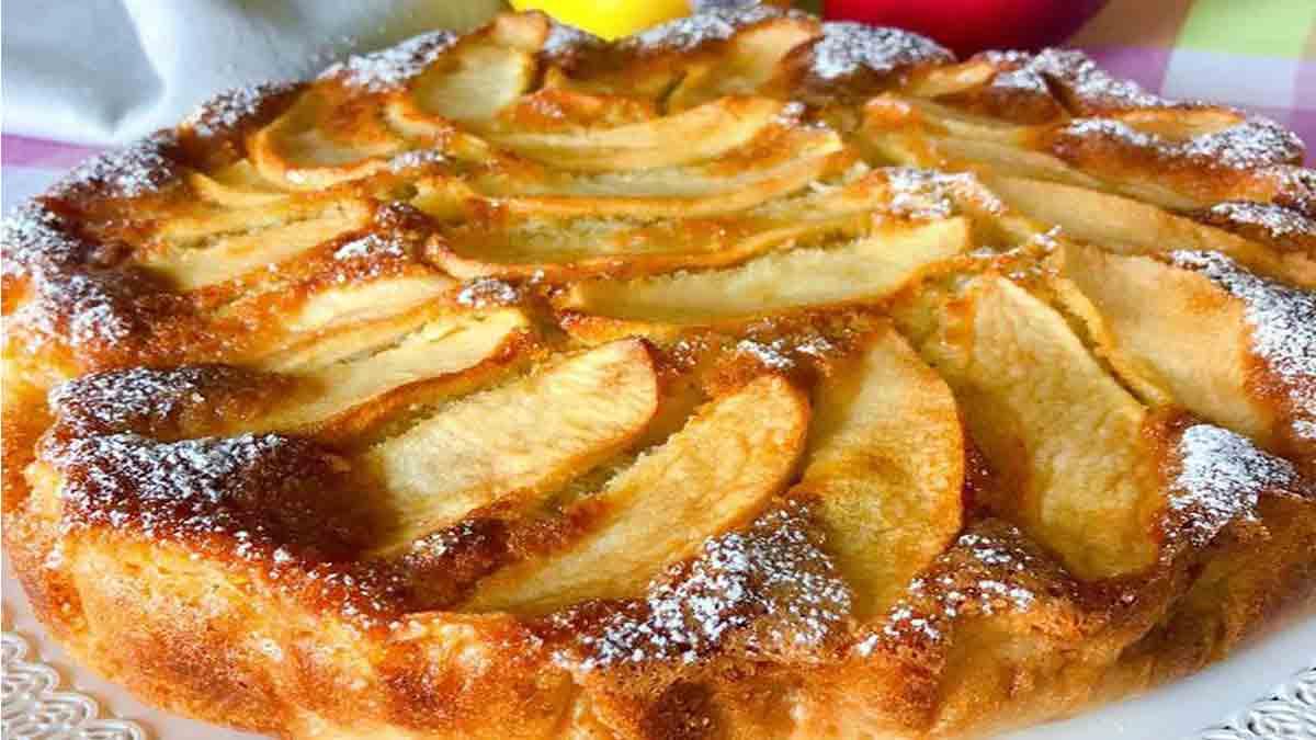 Fabuleuse tarte aux pommes