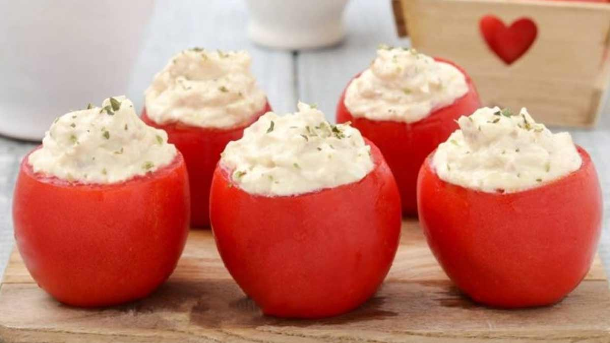Fabuleuses tomates farcies thon-fromage