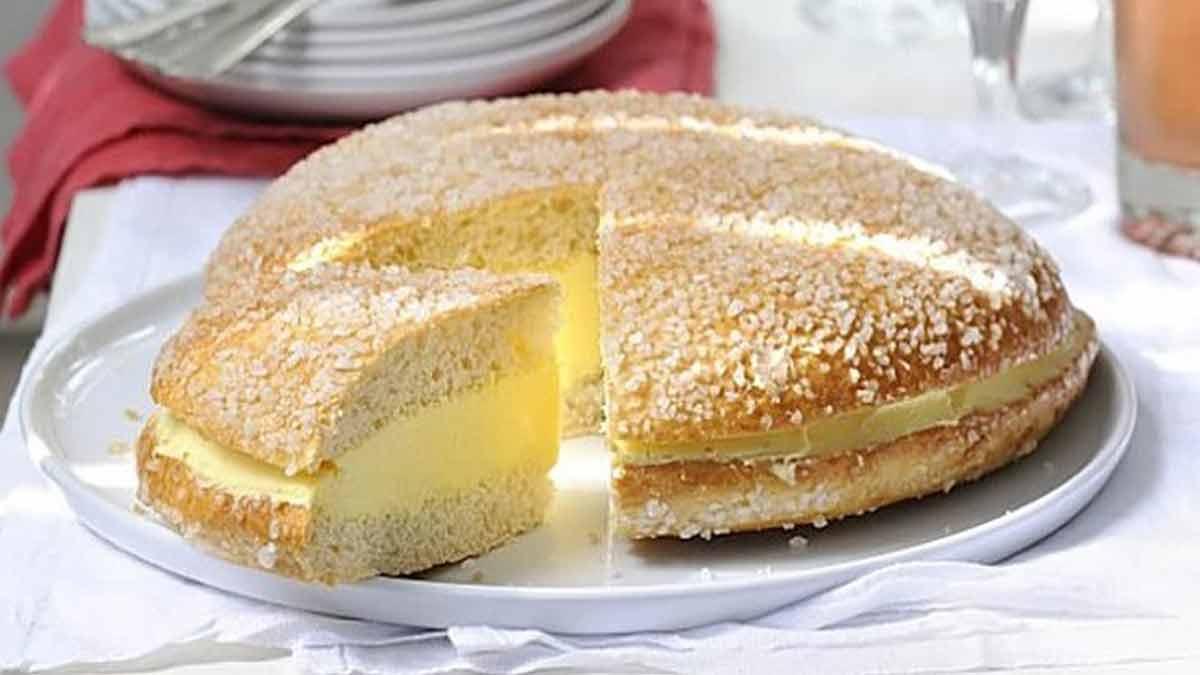 Fameuse tarte Saint-Tropez