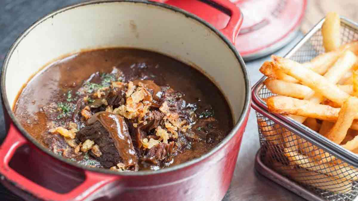 Onctueuse carbonade flamande