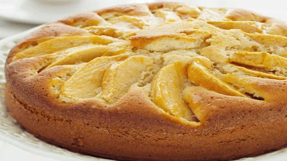 Savoureux gâteau aux pommes express