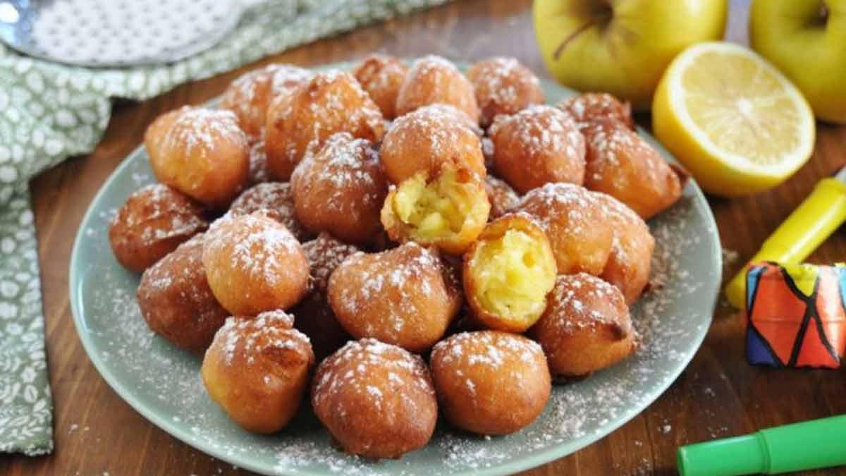 Simplissimes beignets de pommes et ricotta moelleux