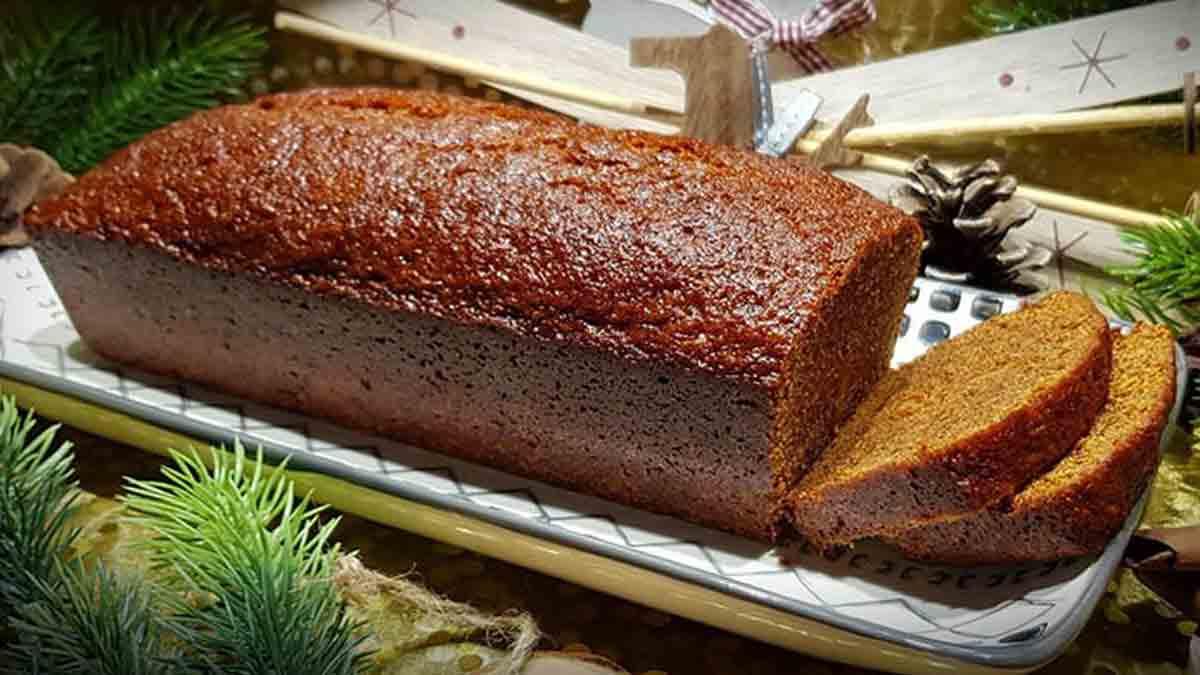 Sublime pain d'épice aux clémentines confites