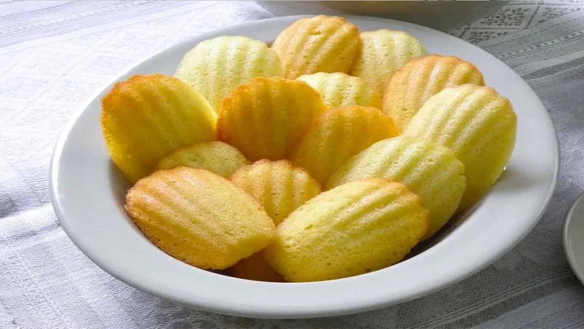 Sublimes madeleines au citron très facile