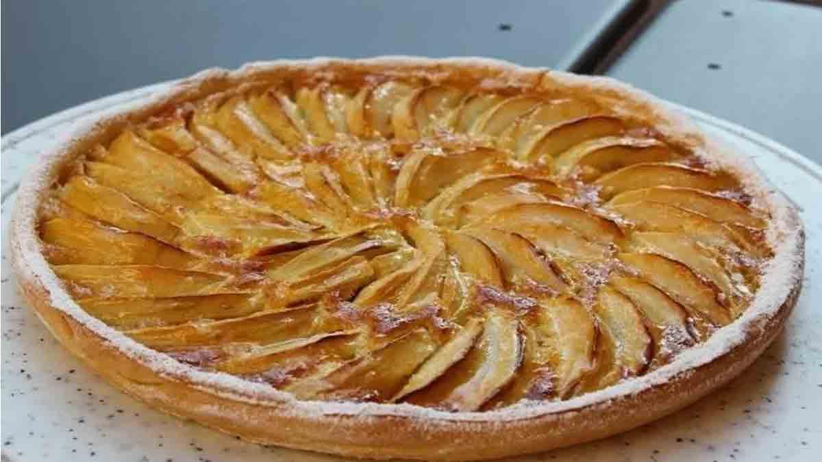 Tarte Normande moelleuse aux pommes