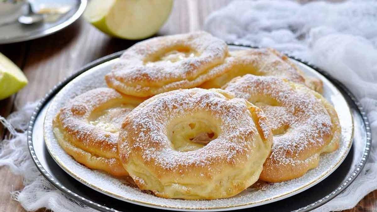 beignets aux pommes de grand-mère