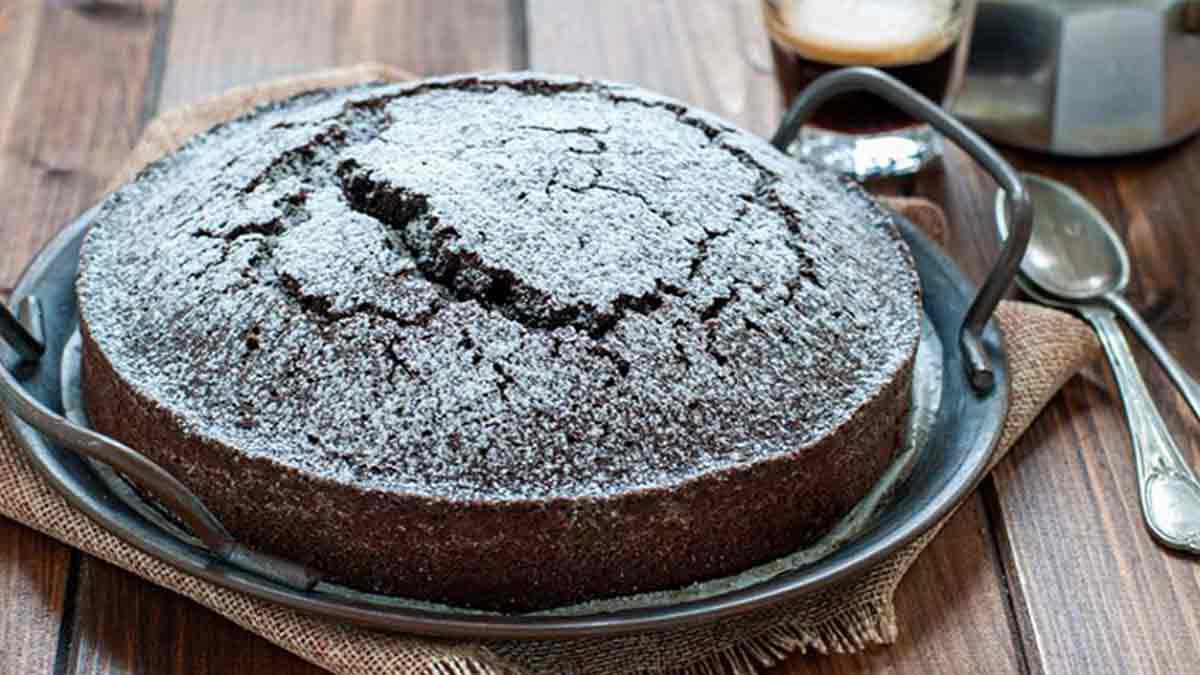 gâteau au café et au cacao