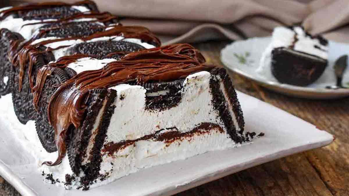 gâteau glacé Oreo