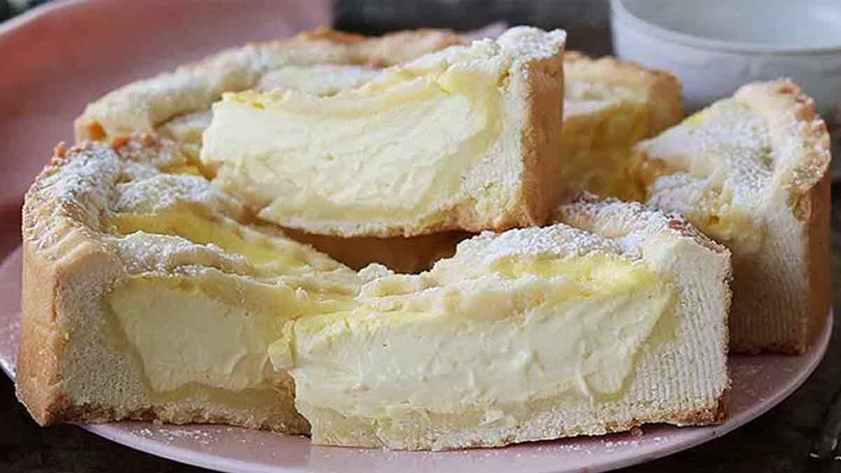 tarte légère à la crème