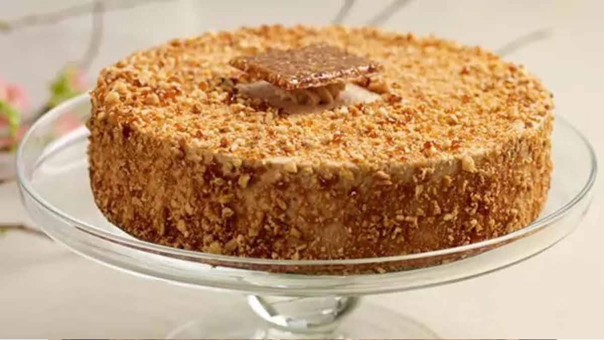 Alléchant gâteau chocolat praliné