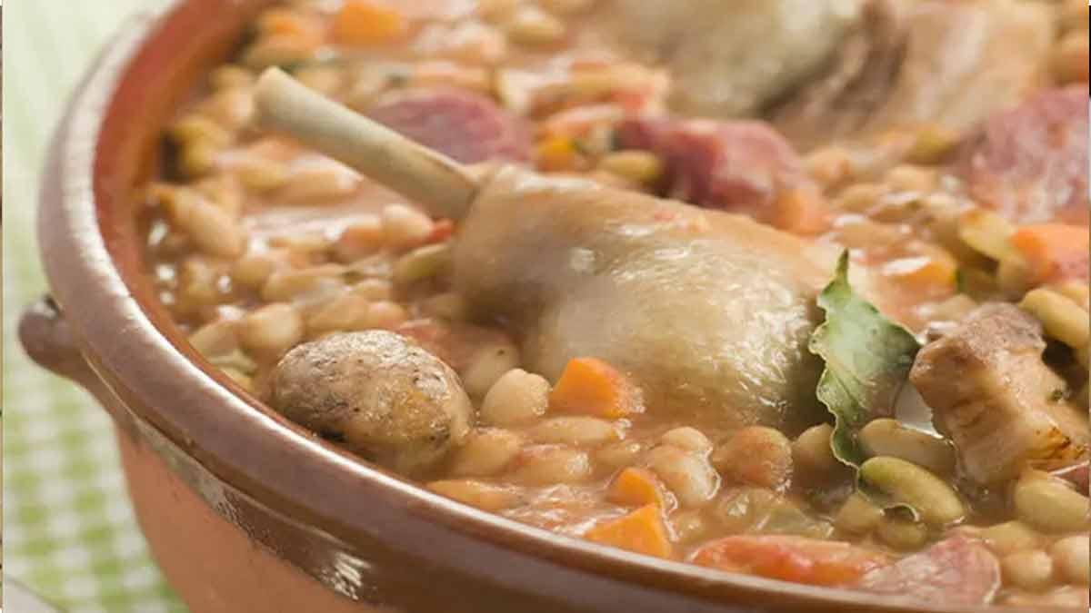Cassoulet au porc chipolatas et saucisson