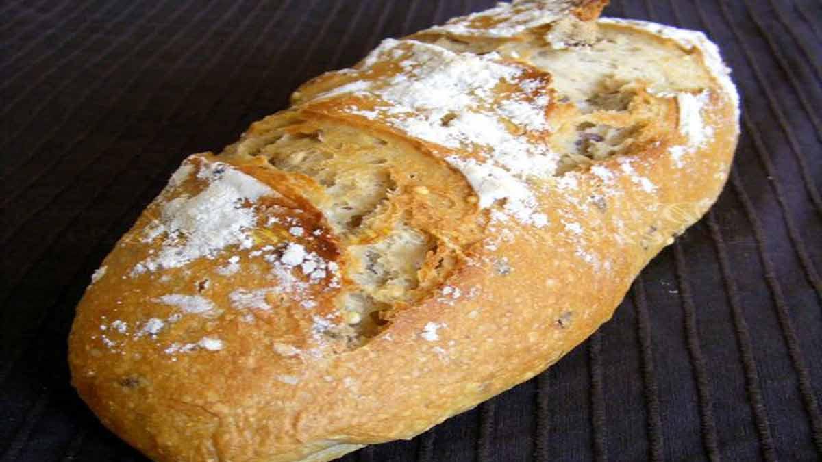 Croustillant pain très riche aux kamut