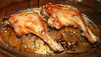 Cuisses de canard confites