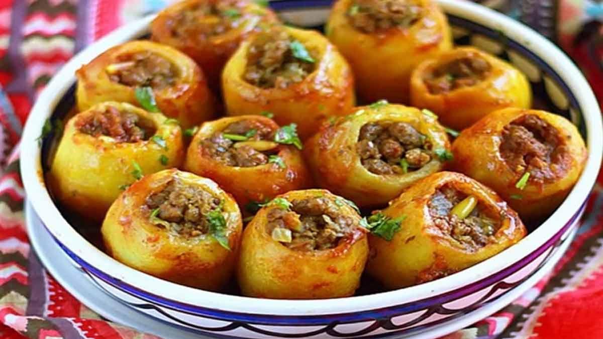 Recette des traditionnelles pommes de terre farcies