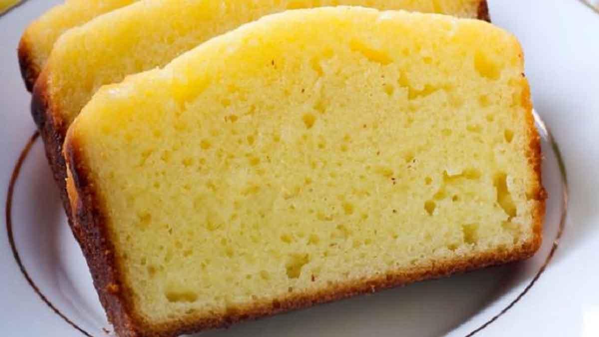 Savoureux gâteau au yaourt allégé vanillé sans huile