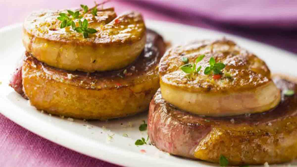 alléchants tournedos au foie gras