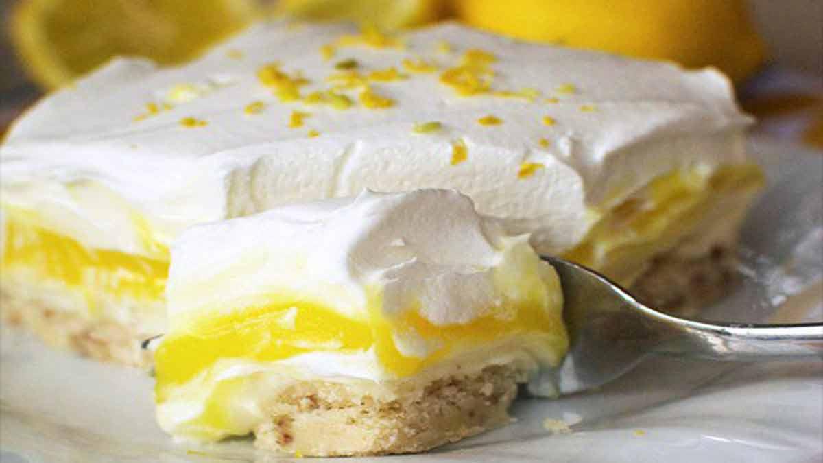 lasagnes sucrées au citron