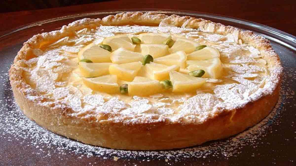 Appétissante tarte au citron