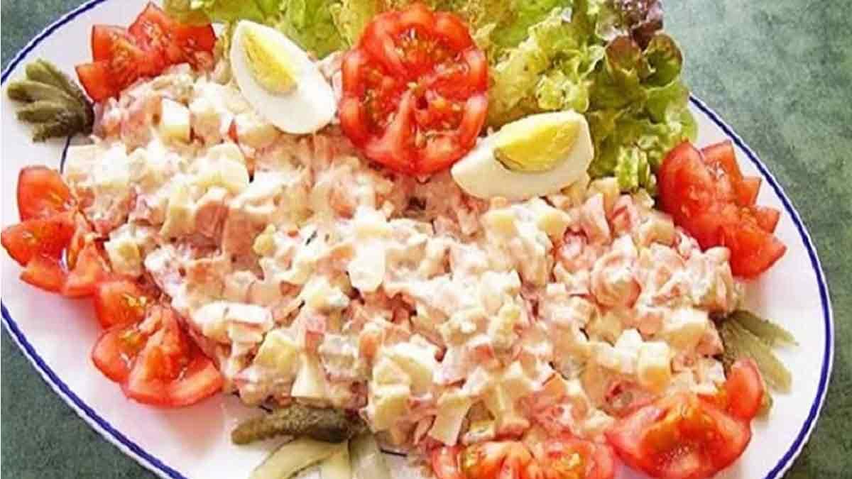 Élégante salade piémontaise