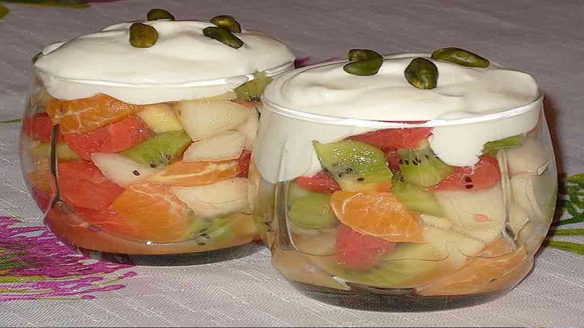 Fabuleuse verrine aux fruits