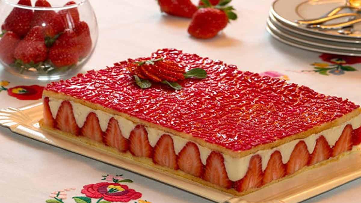 Magnifique fraisier simplissime