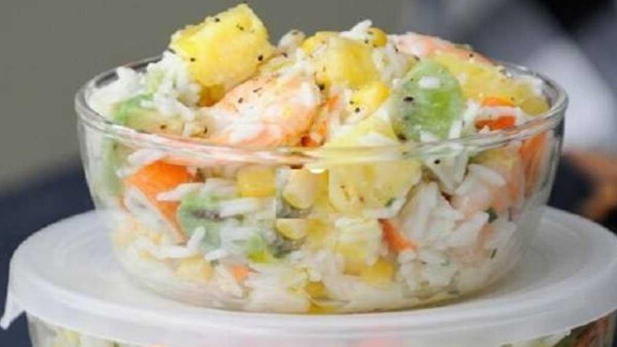 revigorante salade hawaïenne