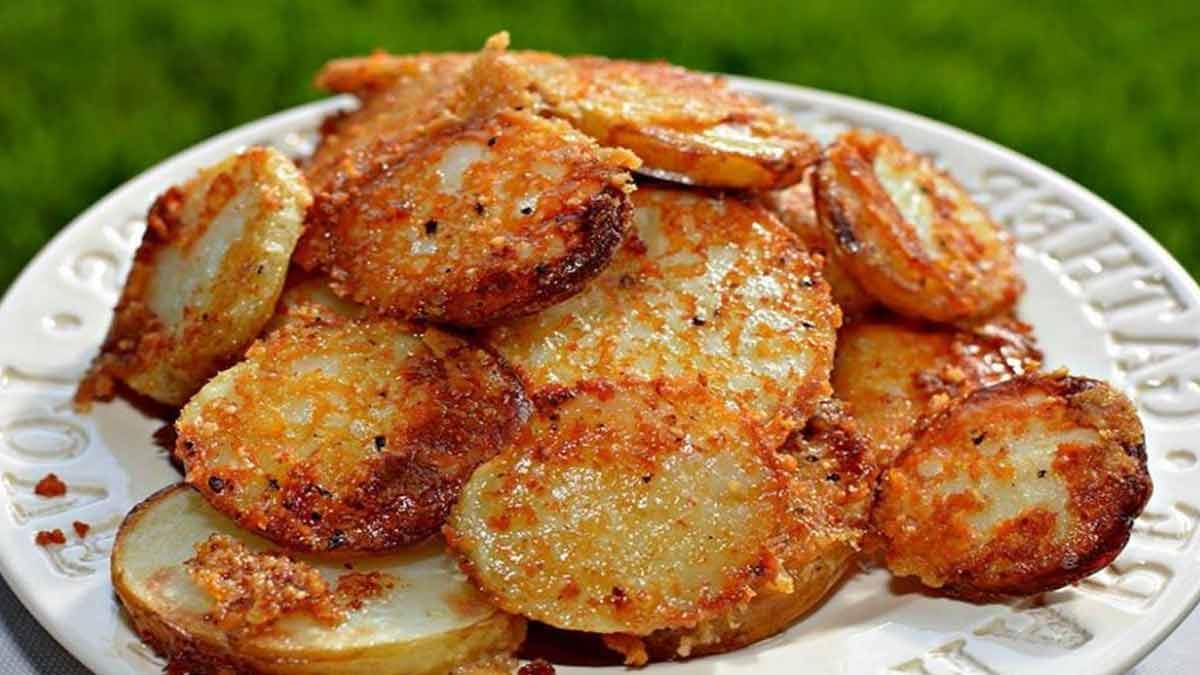 Savoureuses pommes de terre super tendres au parmesan