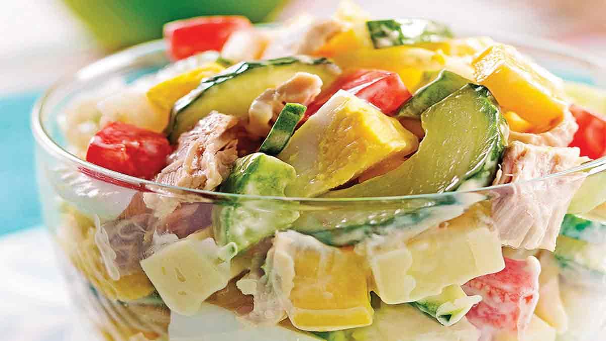 Simplissime salade gourmande de thon à la mangue