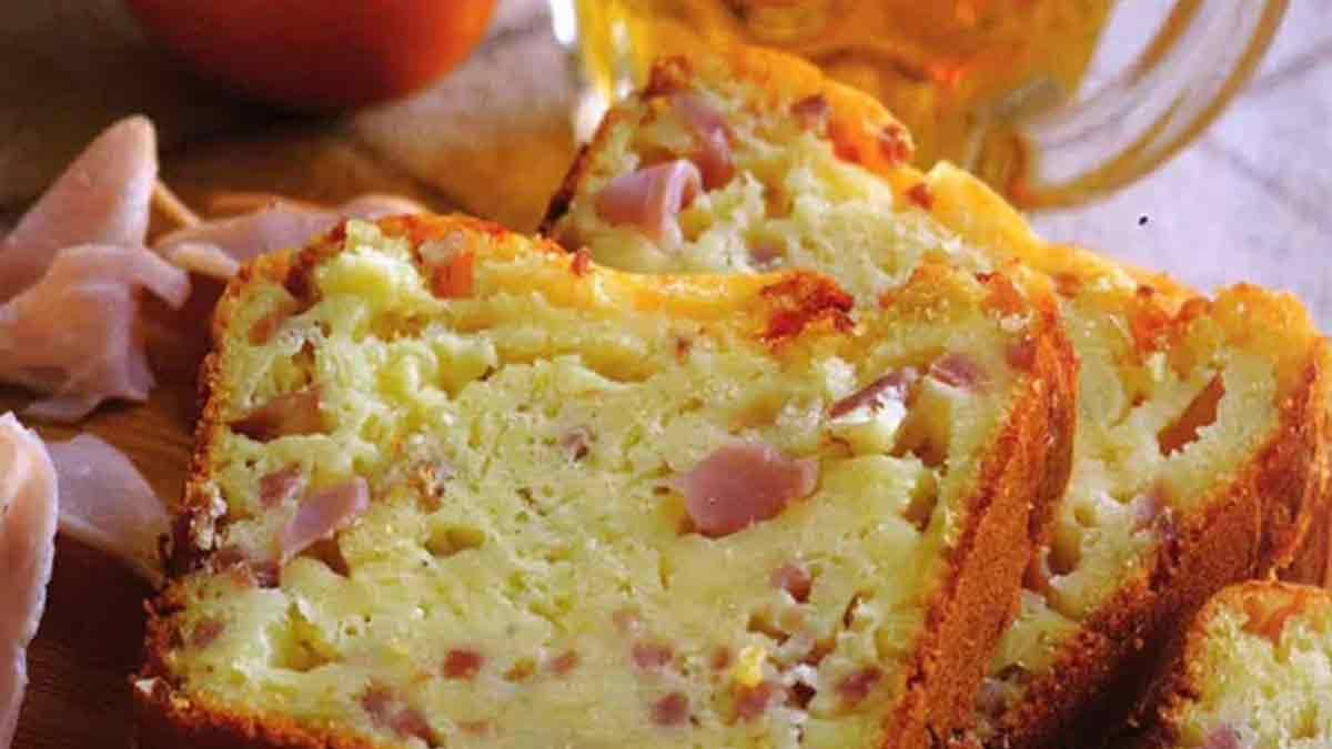 Sublime cake cheddar-jambon-bière-moutarde