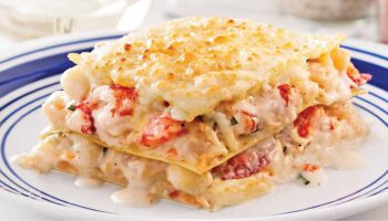Sublime lasagne aux fruits de mer