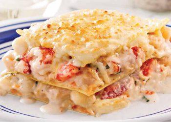 Sublime lasagne aux fruits de mer