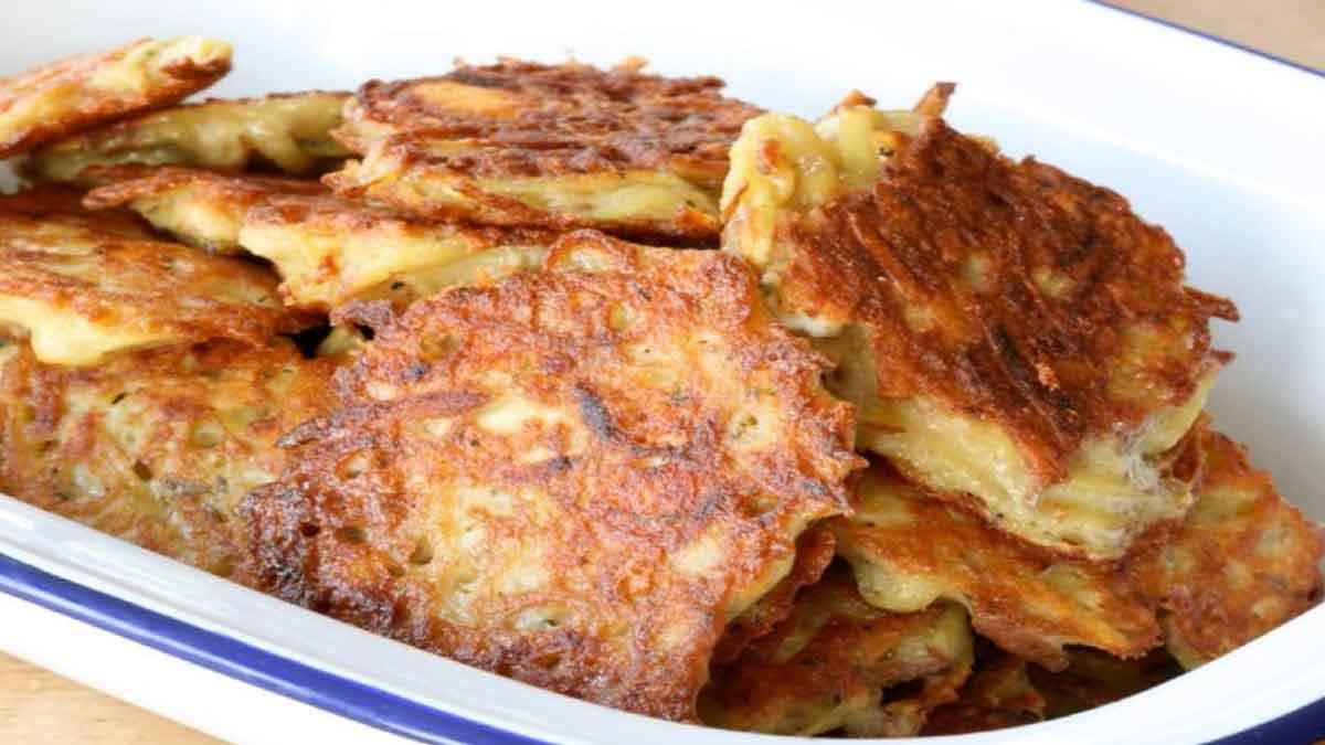 Sublimes galettes de pommes de terre