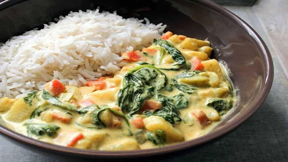 appétissants légumes au curry