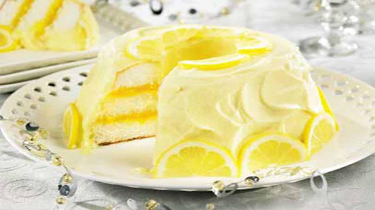 original gâteau chiffon au citron