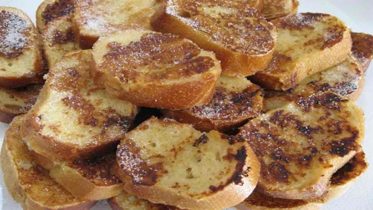 parfaits pains perdus de grand-mère