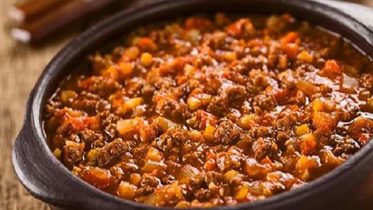 succulente sauce bolognaise fait maison