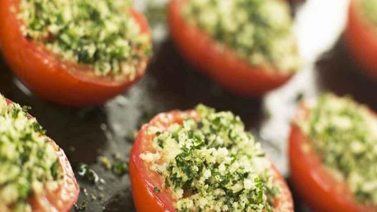 sublimes tomates farcies à la provençale