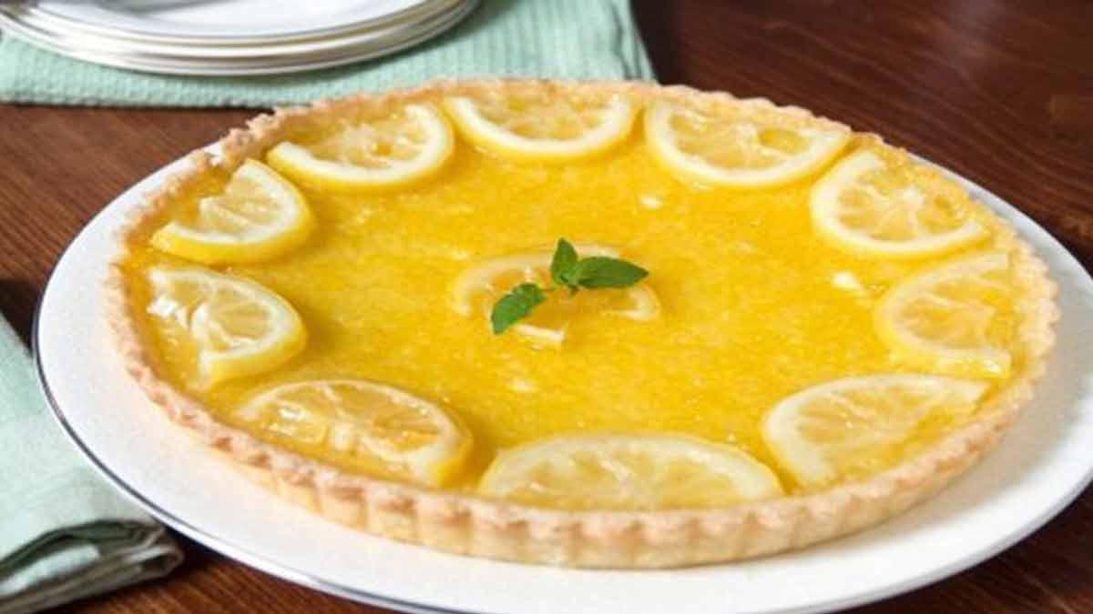 tarte citronnée