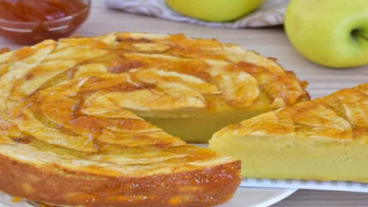 tarte classique aux pommes