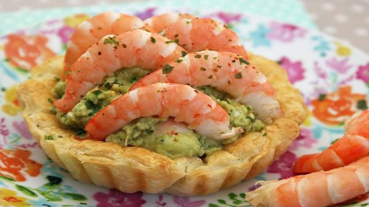 tartelettes à la mousse de saumon