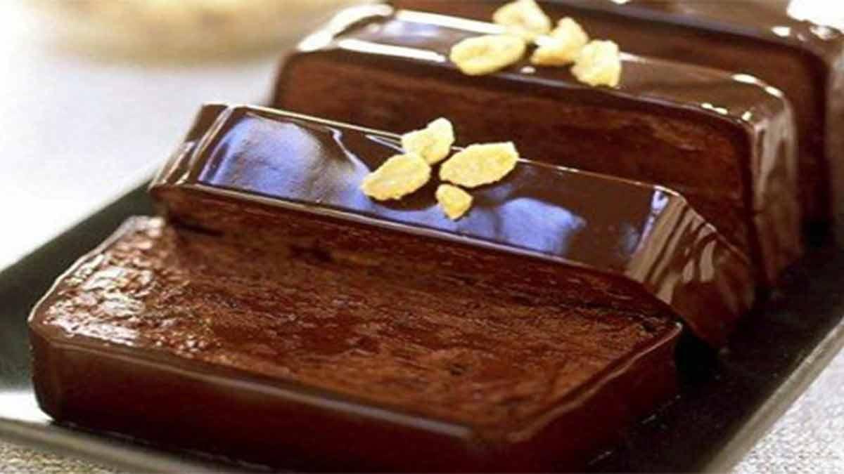 terrine au chocolat et beurre de cacahuète