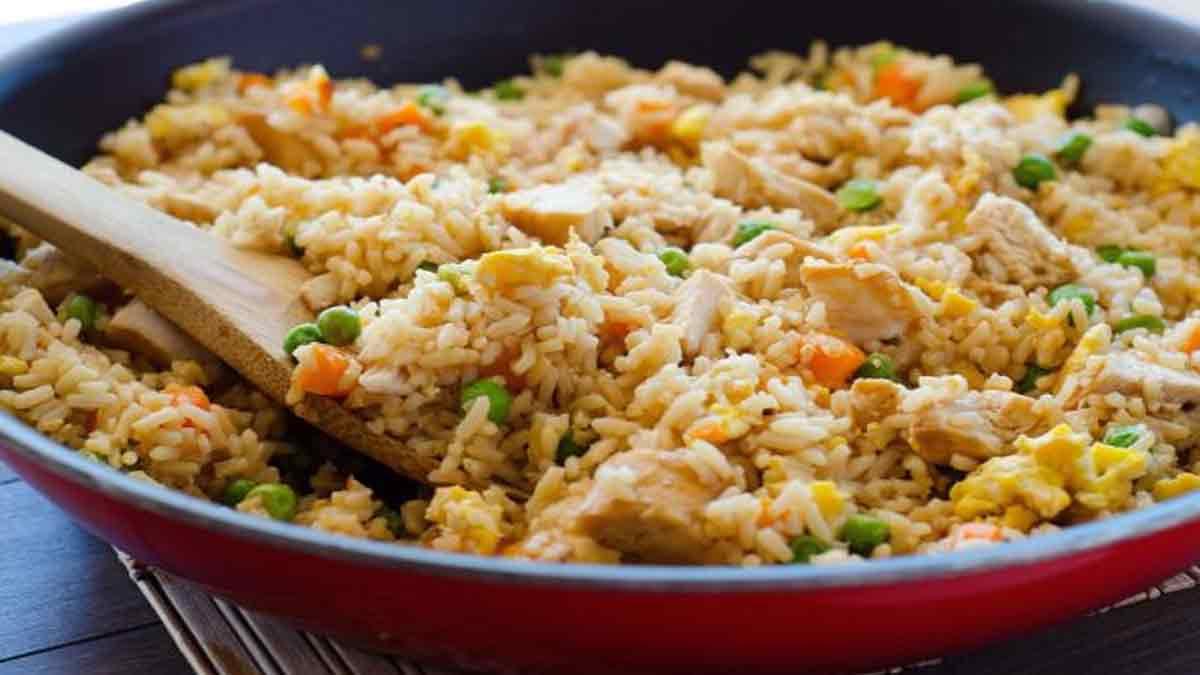 Délicieux riz frit simplissime
