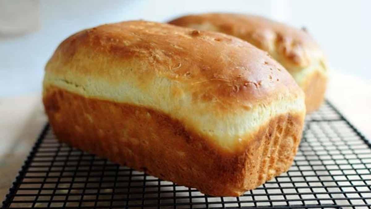 Doux pain gâteau très aérien